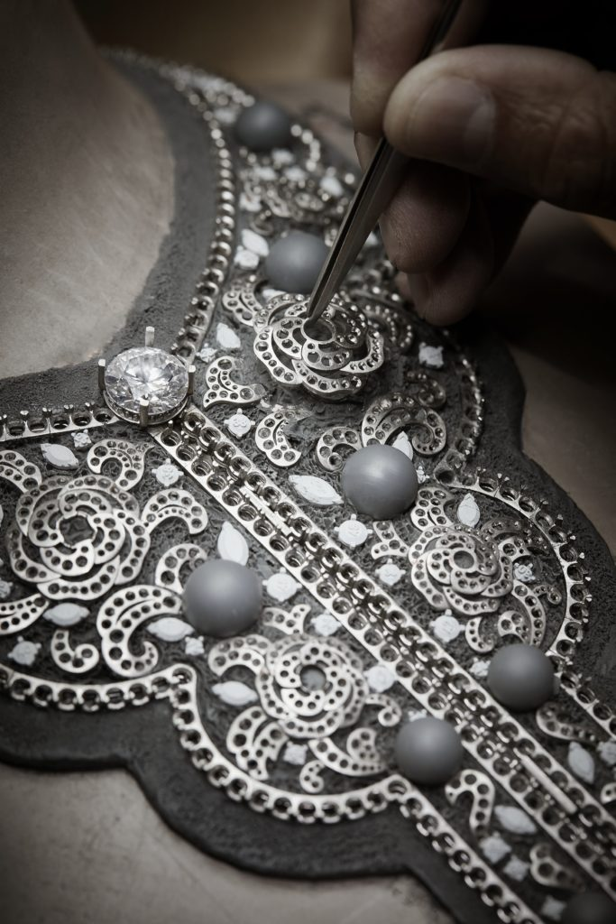 The Sarafane necklace. Courtesy of Chanel.