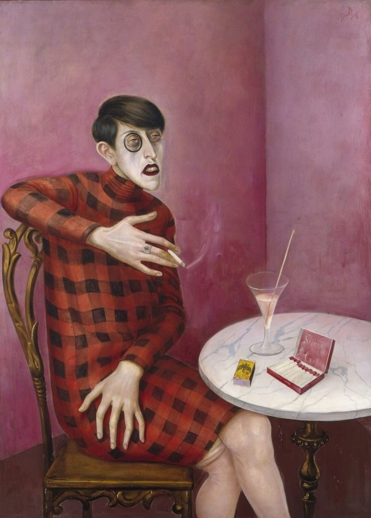 Otto Dix, Portrait of the journalist Sylvia von Harden (1926). Courtesy of Centre Georges Pompidou.
