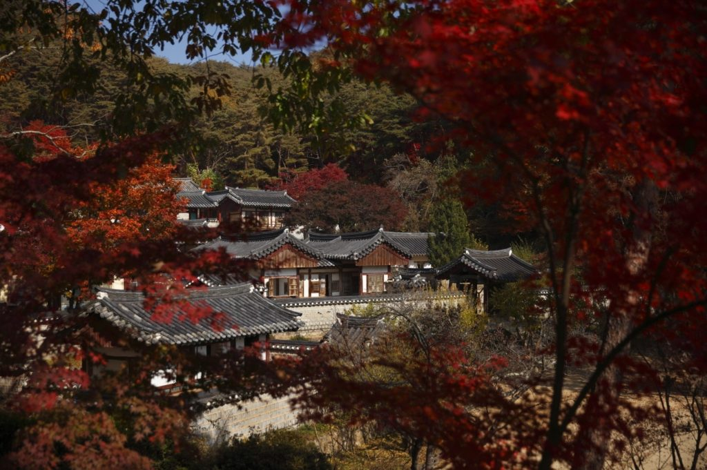 Dosan Seowon, South Korea. Photo by Oh Jong-eun, © Council for Promotion of the Inscription of Confucian Academies on the World Heritage List, courtesy of UNESCO.