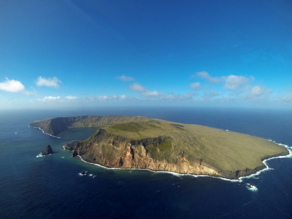 French Austral Lands and Seas, Saint-Paul Islands. Photo by Nelly Gravier, courtesy of UNESCO.