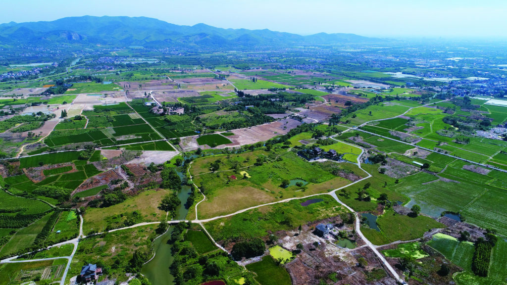 Archaeological Ruins of Liangzhu City, China. Photo ©Hangzhou Liangzhu Archaeological - Site Administrative District Management Committee, courtesy of UNESCO.