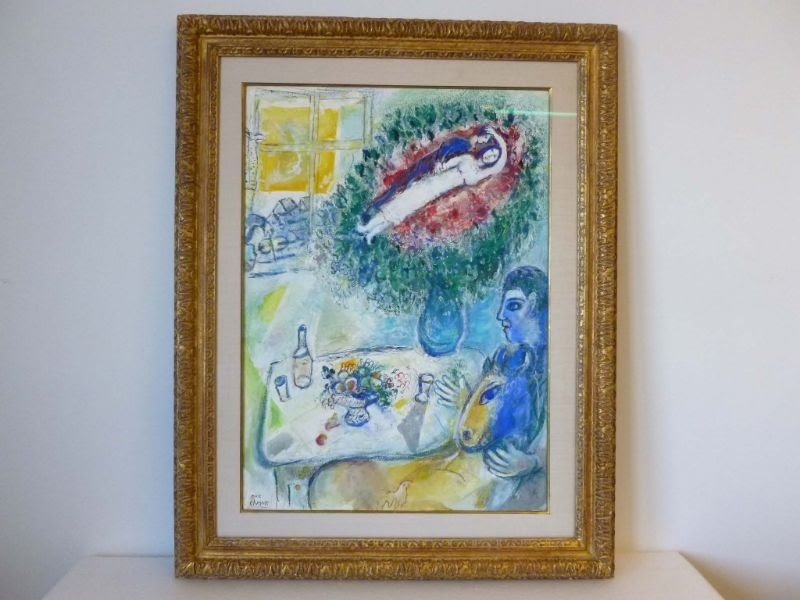 Marc Chagall, Reverie. Photo: Manhattan District Attorney