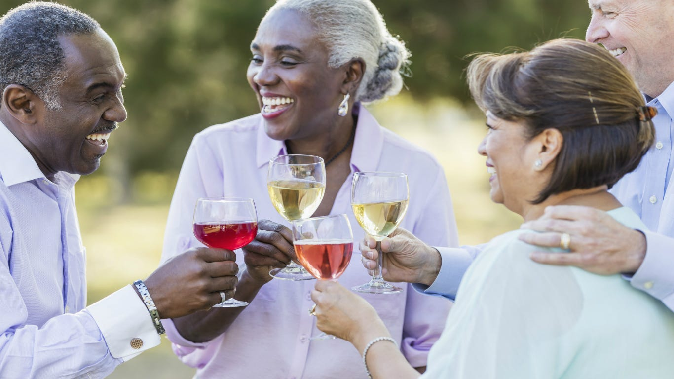 Drink wine, beer, alcohol at senior age to live longer, study finds