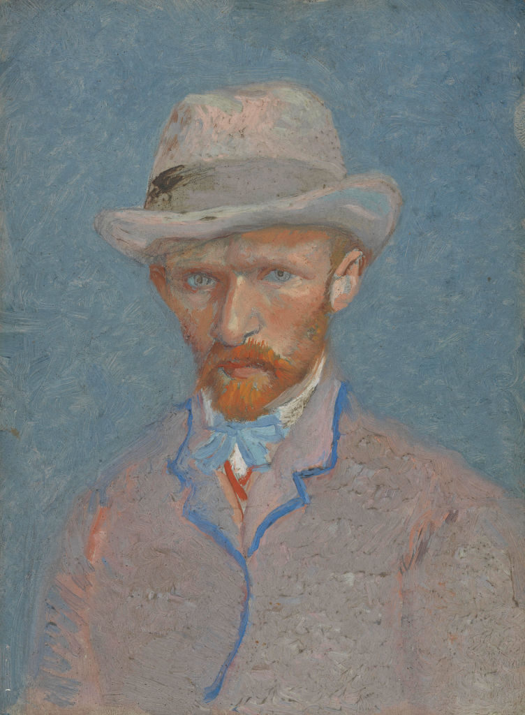 Self-Portrait. Found in the Collection of Van Gogh Museum, Amsterdam. (Photo by Fine Art Images/Heritage Images/Getty Images)