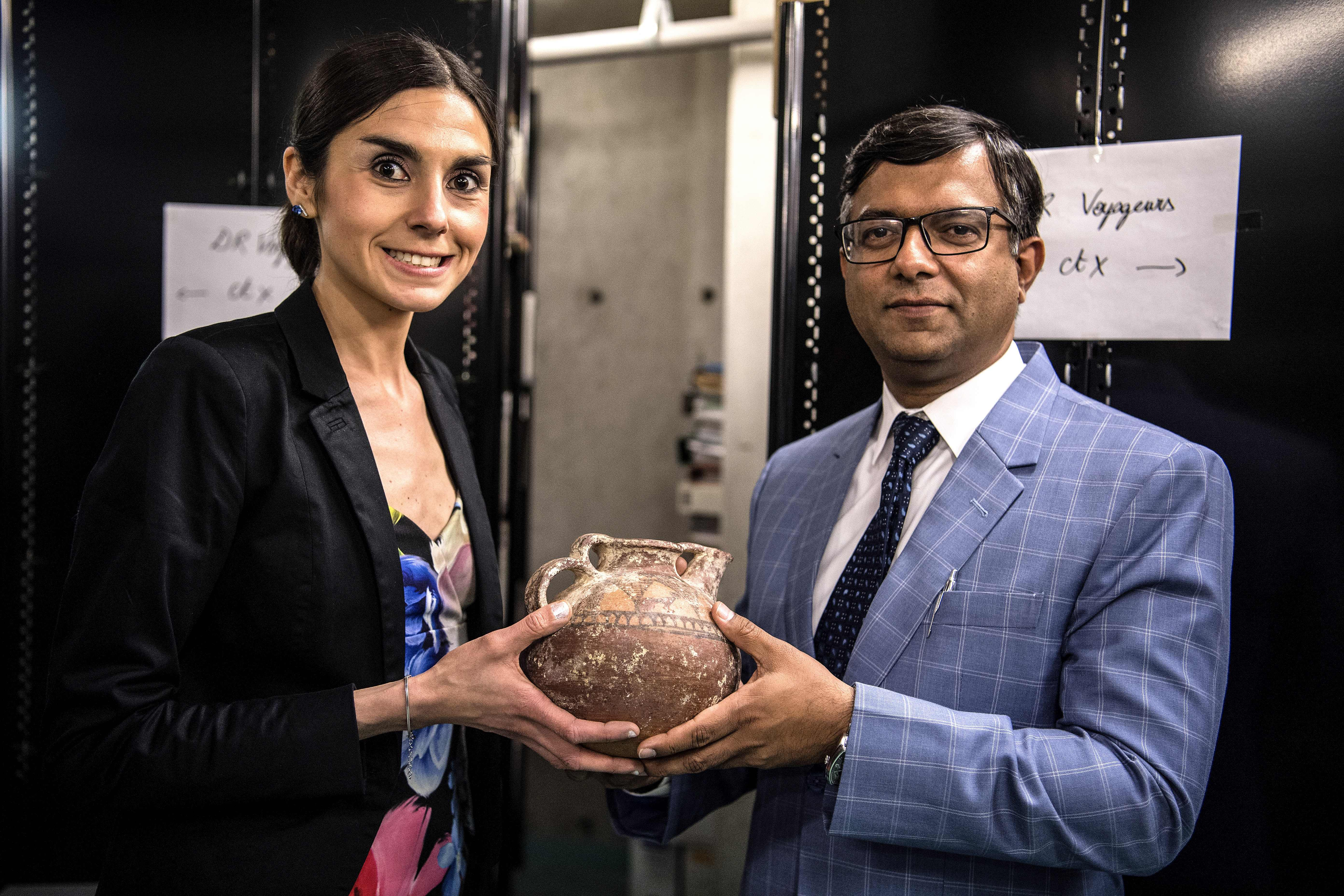 French Police Intercepted Some Suspicious Pots at the Airport. The Investigation Led to the Return of a Cache of Pakistani Artifacts