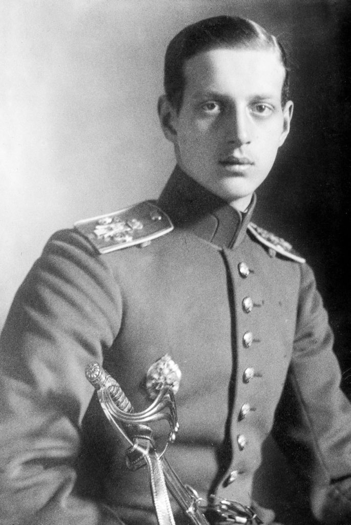 The Grand Duke Dmitri Pavlovich of Russia (1891-1942), c. 1915. (Photo by APIC/Getty Images)