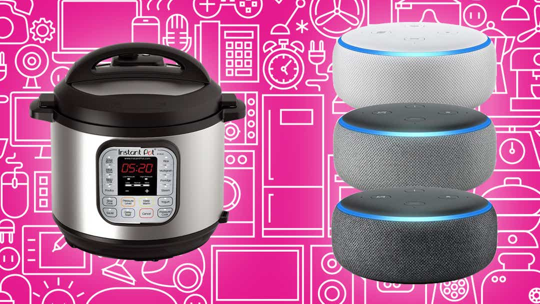 Instant Pots, Samsung TVs, Echo Dots, and more