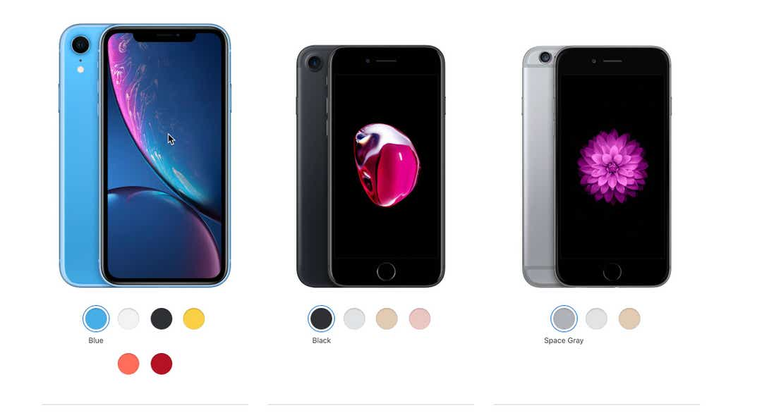Is Apple's XR, 7 or 8 a better budget option?