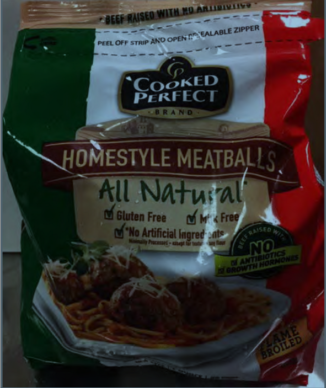 More than 26 tons of frozen meatballs recalled