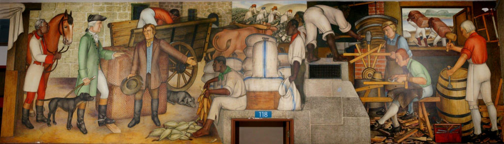 Nearly 400 Writers and Academics Are Protesting the Planned Destruction of a Controversial Mural Depicting the Life of George Washington