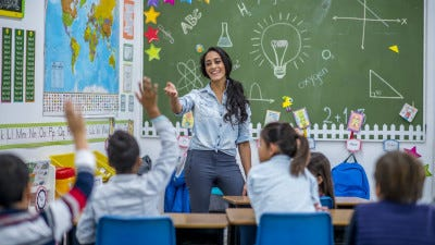 Teachers are 3 times more likely to need a second job