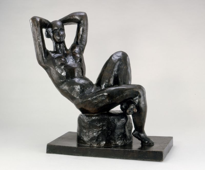 Henri Matisse, <em>Large Seated Nude</em> (1922, cast 1930). Photo courtesy of the Baltimore Museum of Art.