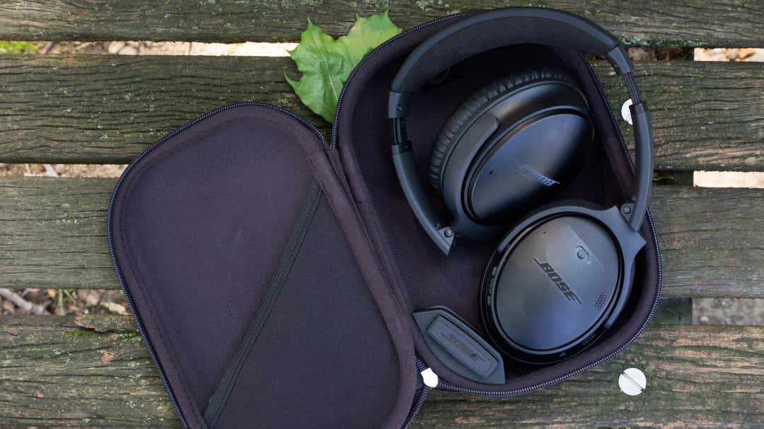 The Bose QuietComfort Series II noise-canceling headphones are on sale for Monday only