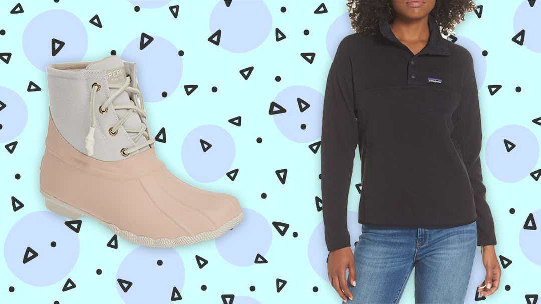 The best deals on fall and winter apparel, boots, handbags, and more