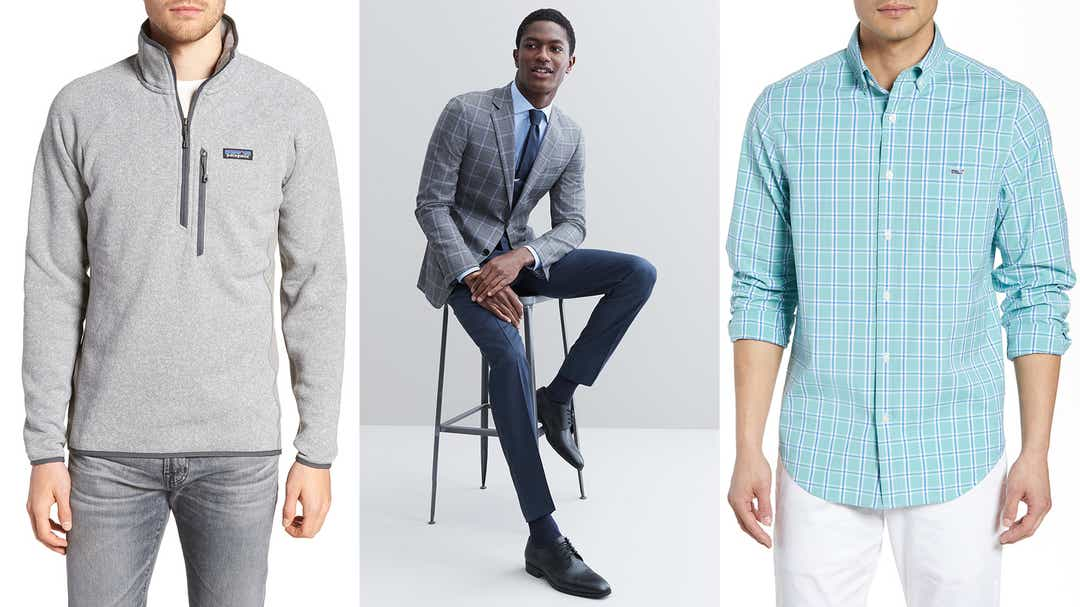 The best deals on men's clothing, shoes, and more
