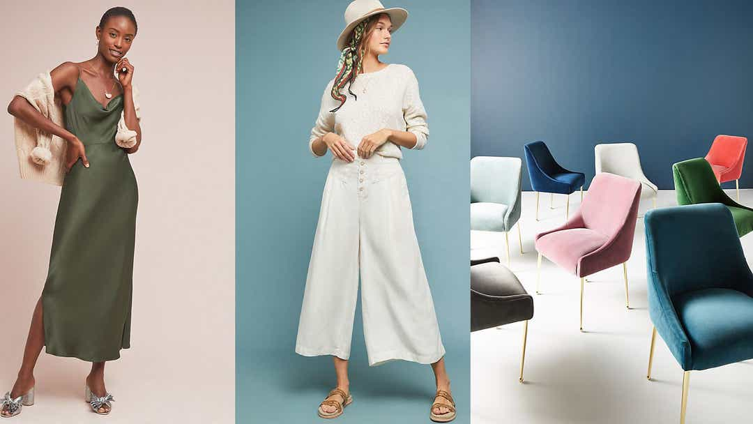 The best things you can get during Anthropologie's weekend Anthro Day sale