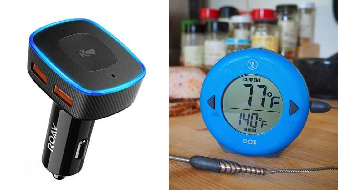meat thermometers, car chargers, and more