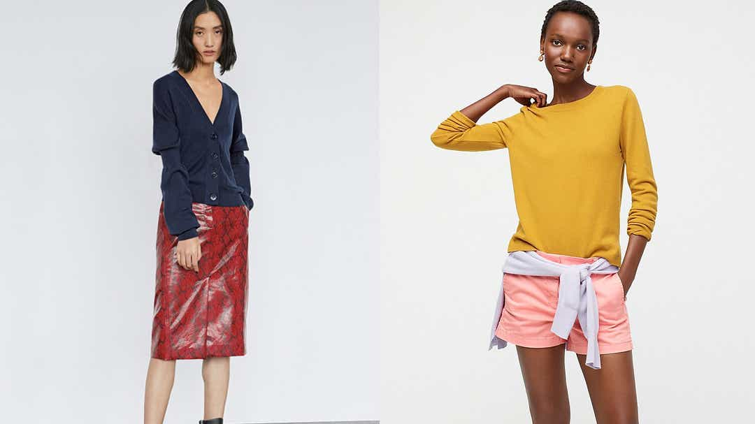 14 retailers having huge sales on clothes, shoes, and more