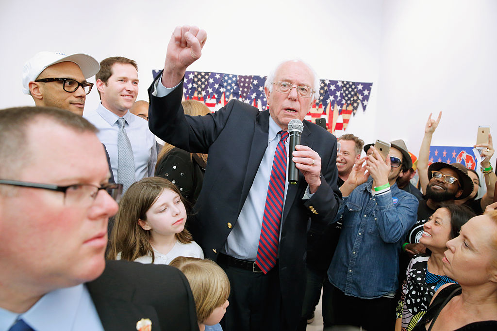 Art Industry News: Is Bernie Sanders the Best US Presidential Candidate for the Arts? + Other Stories