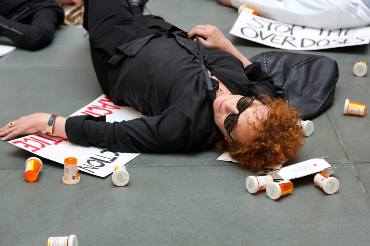 Artist Nan Goldin Was Arrested Outside of New York Governor Andrew Cuomo's Office While Protesting His Opioid Policies