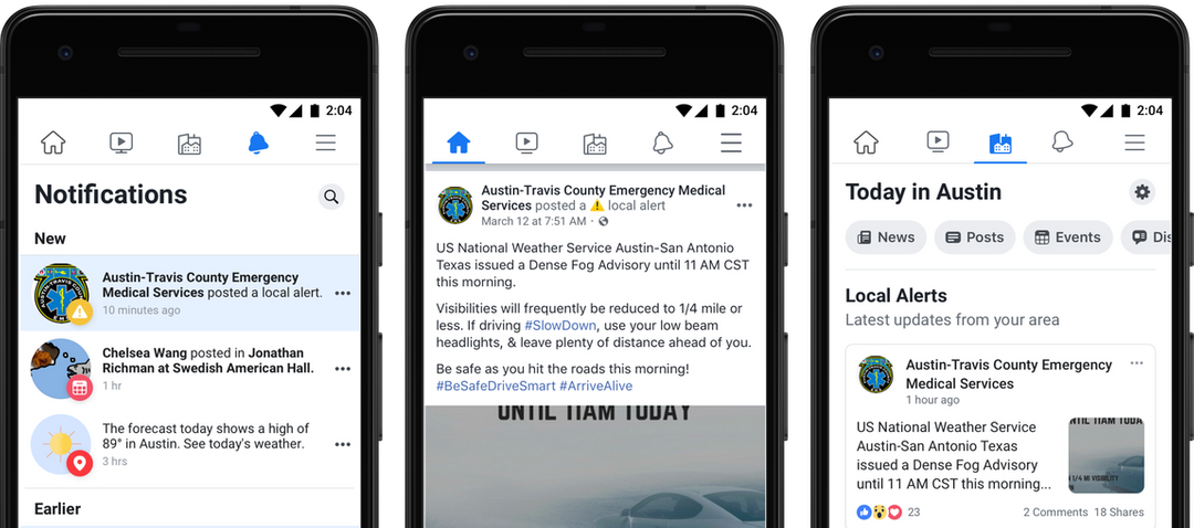Facebook rolls out nationwide emergency alerts for active shooters