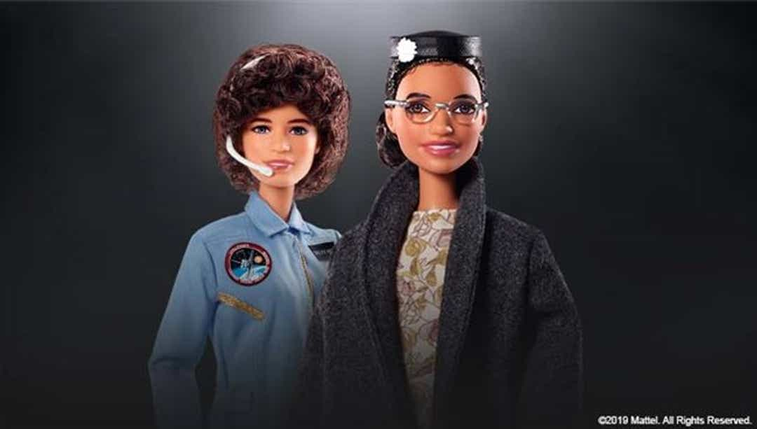 Rosa Parks and Sally Ride Barbie dolls: Two new collector dolls