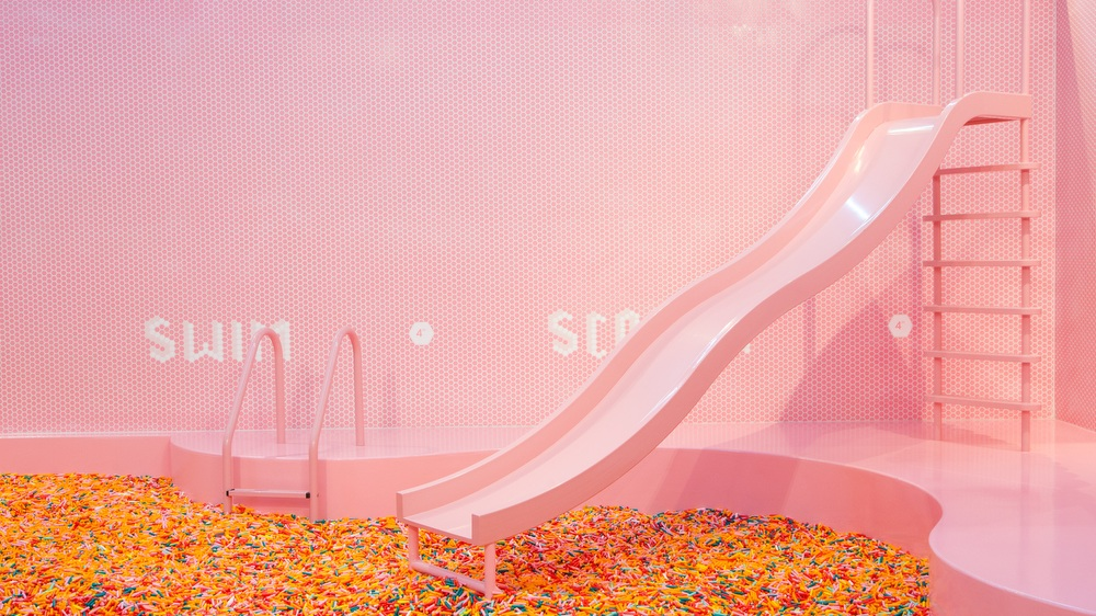 The Sprinkle Pool at the Museum of Ice Cream San Francisco. Photo courtesy of the Museum of Ice Cream.