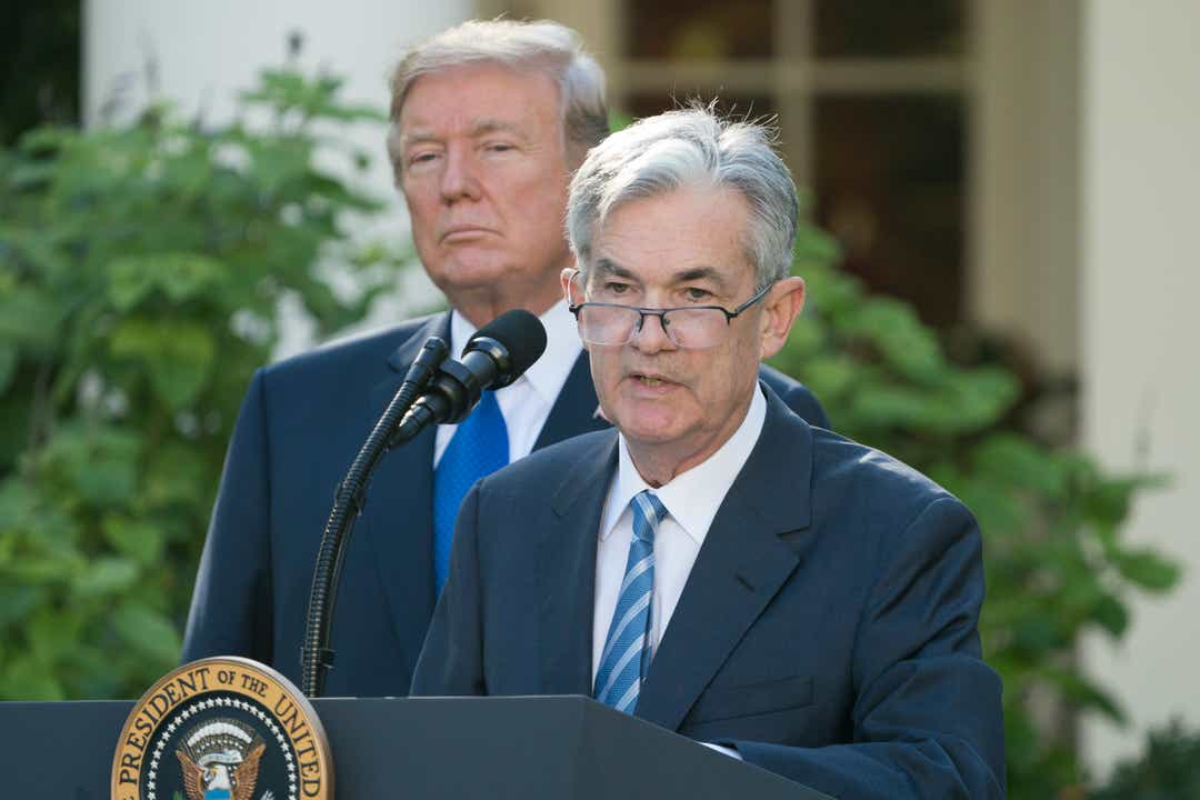 Trump says Powell, central bank should signal more cuts