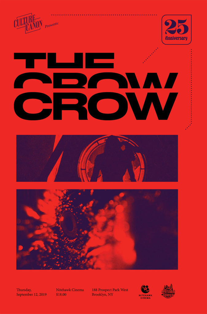 Culture Canon presents <em>The Crow</em>. Courtesy of Culture Canon.