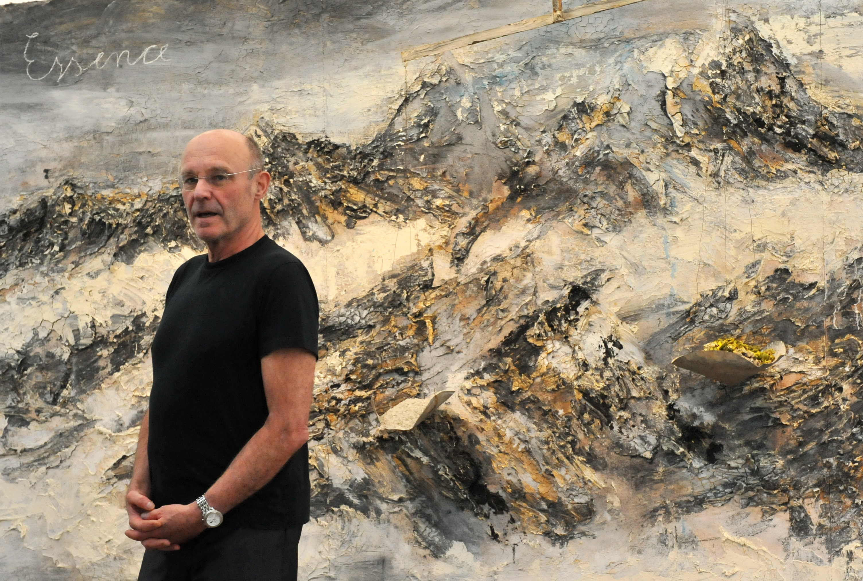 A Group of Thieves Bungled a Break-In at Anselm Kiefer's Studio When Trying to Steal One of His Sculptures