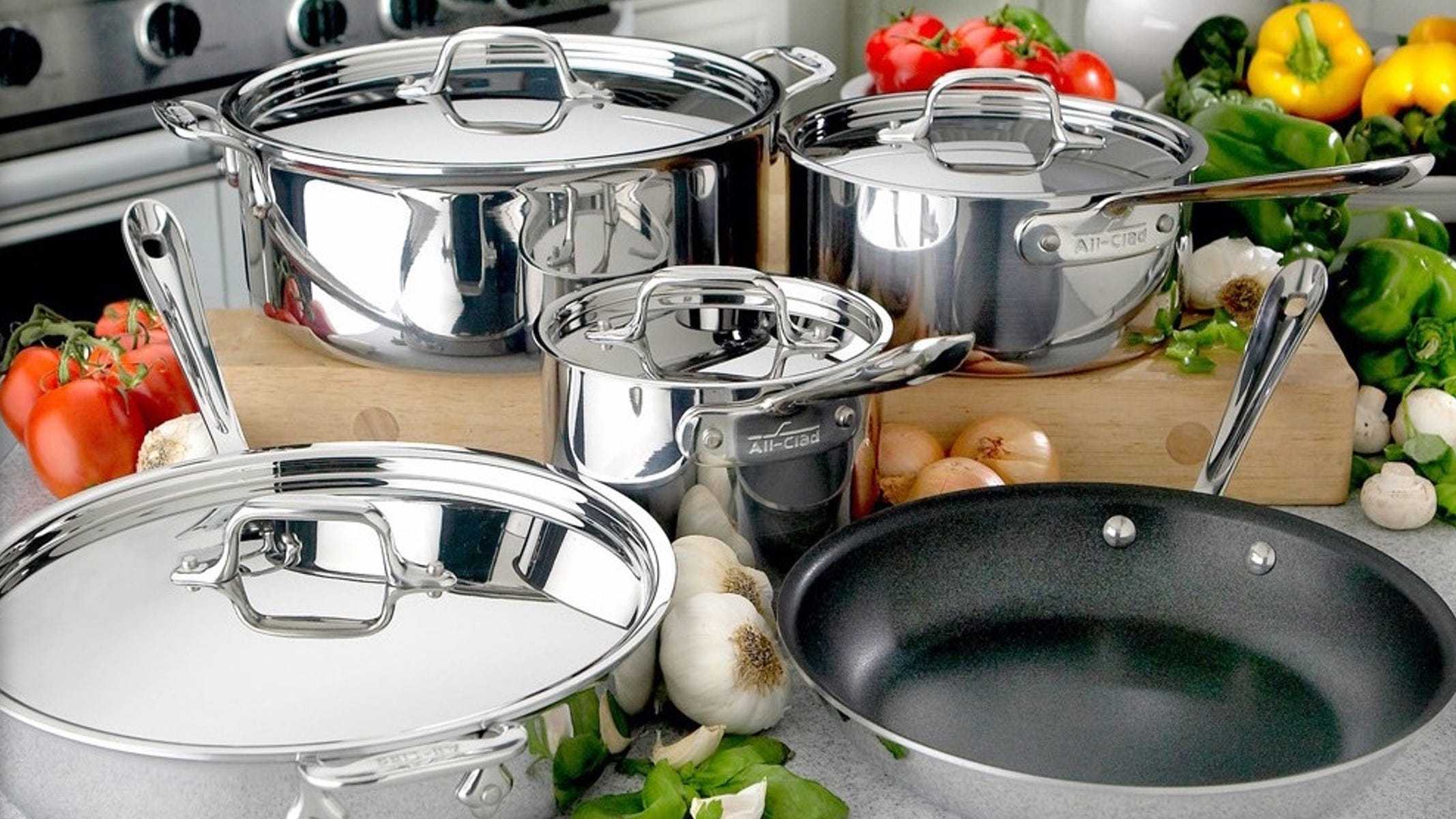 All-Clad's VIP Factory Seconds Sale on all your favorite cookware is back