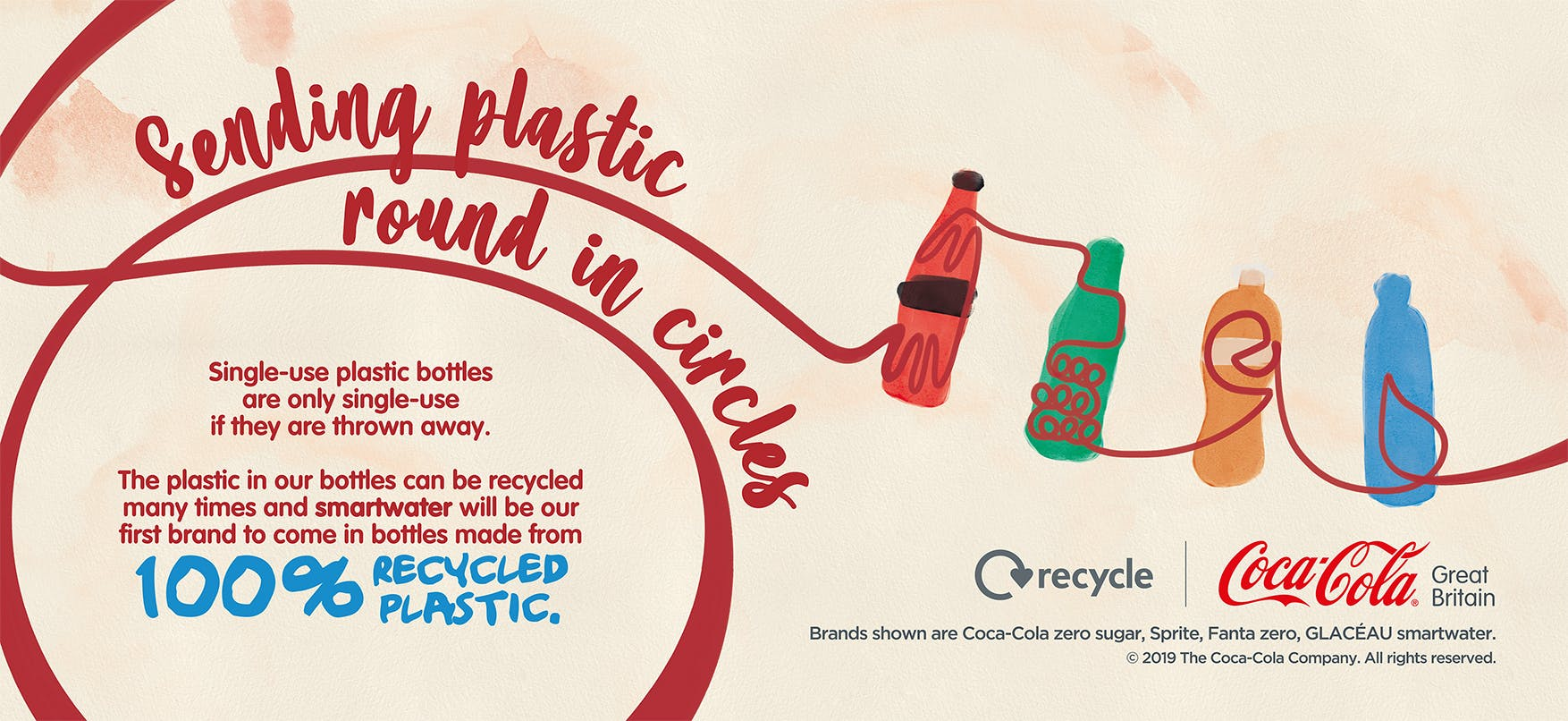 Coca-Cola uses new campaign to encourage more people to recycle