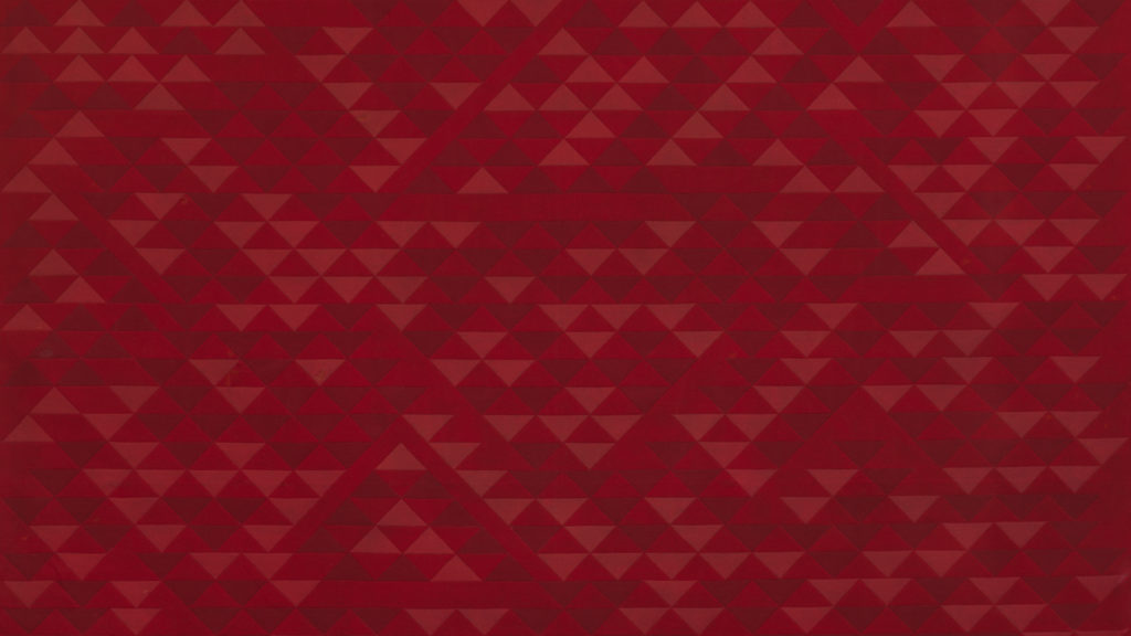 Anni Albers, [etail] <i>Camino Real</i> (1968). Courtesy of The Josef and Anni Albers Foundation, David Zwirner.