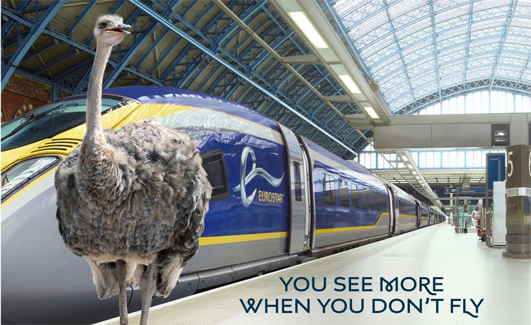 Eurostar looks to stand out from 'generic' travel ads with new campaign