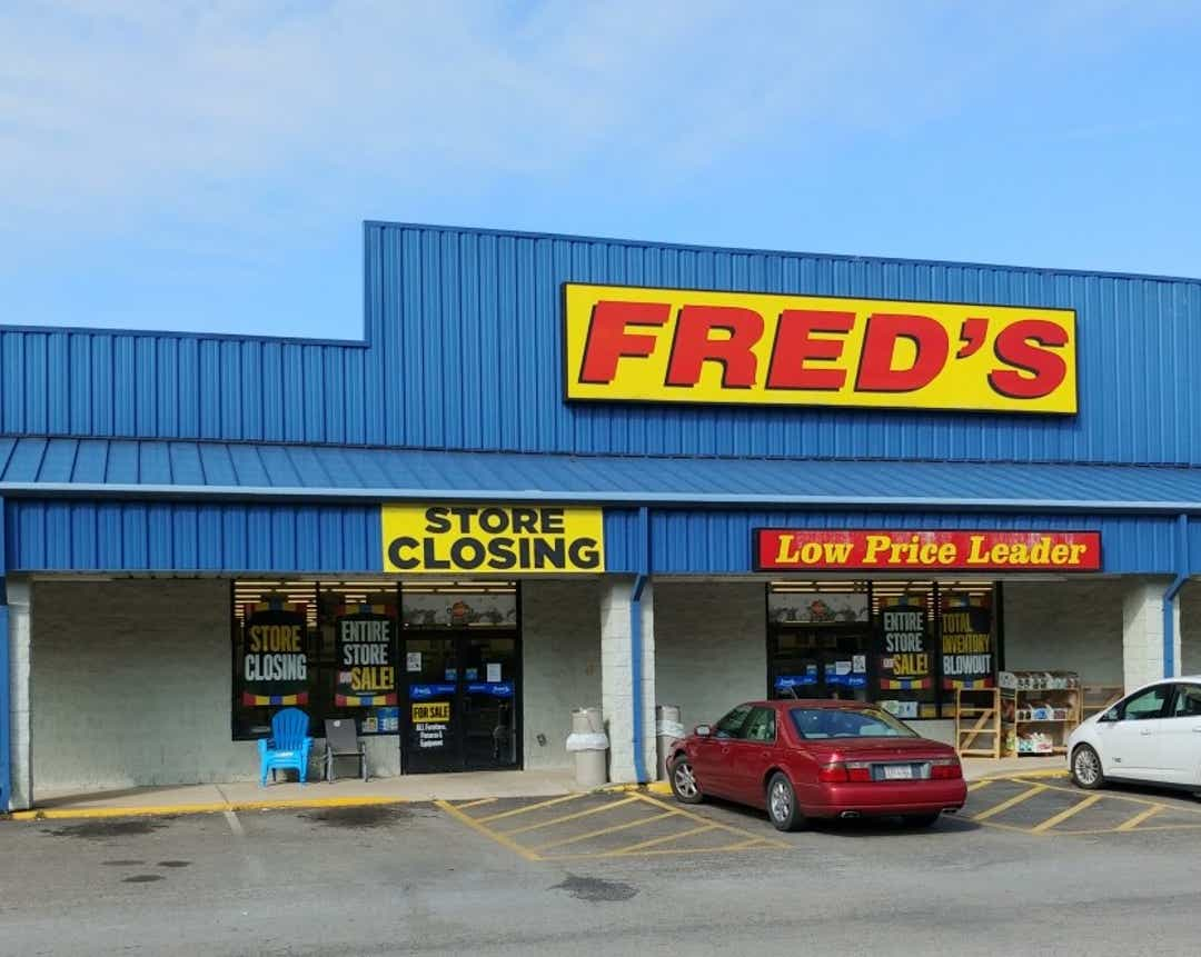 Fred's files for bankruptcy, will close all stores