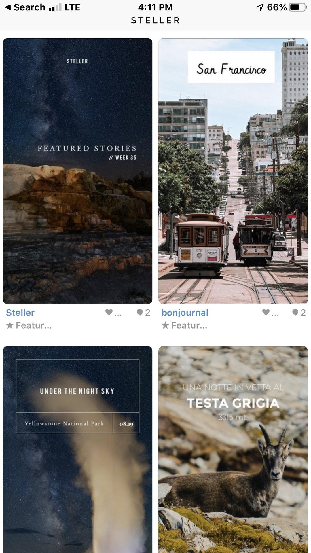 Once an Apple iPhone app of year, Steller revived for travel stories