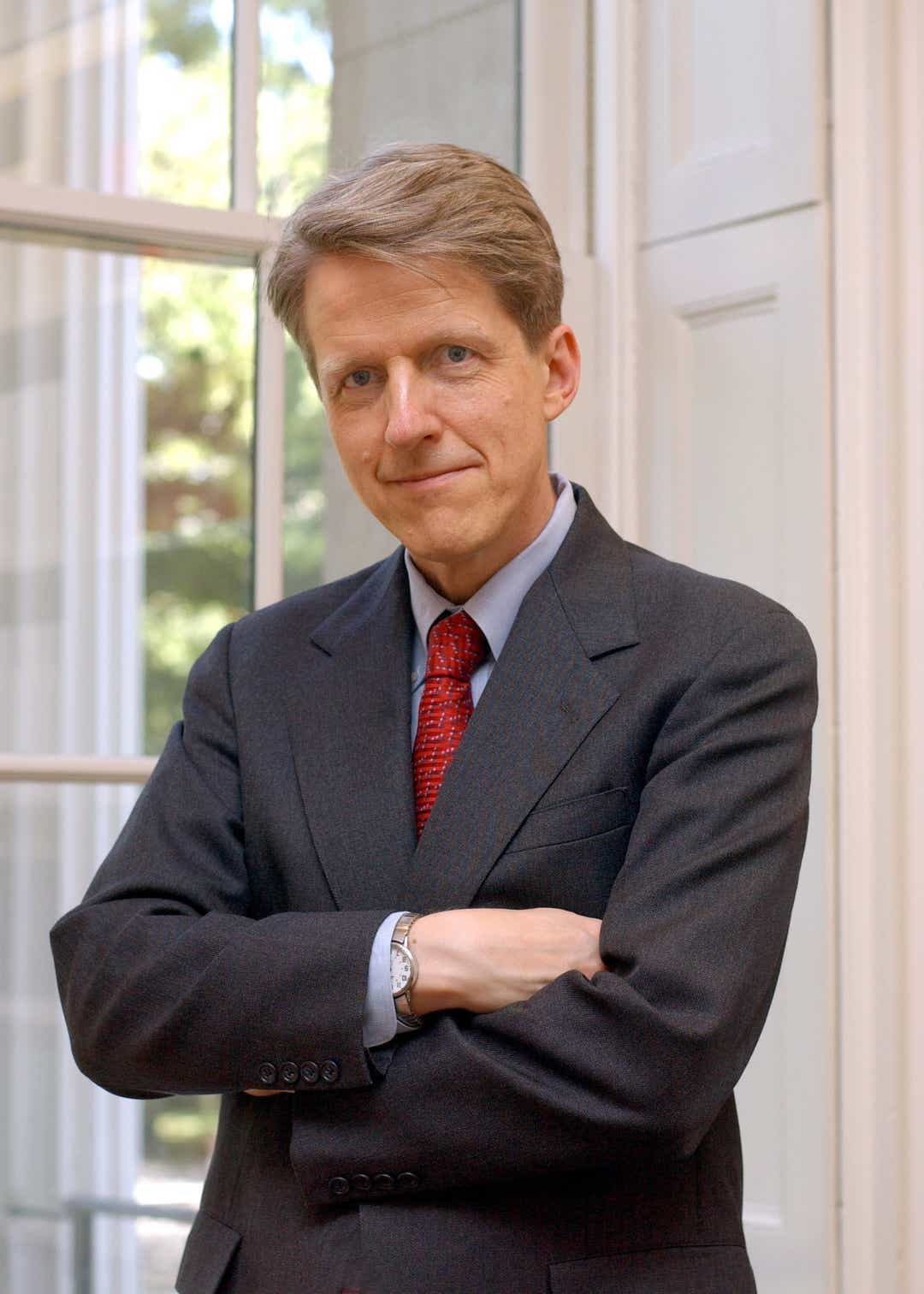 Robert Shiller puts odds of downturn at less than 50%