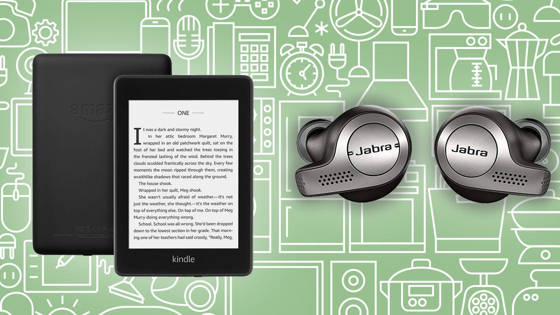 Save on popular products like Kindles, wireless earphones, and portable projectors.