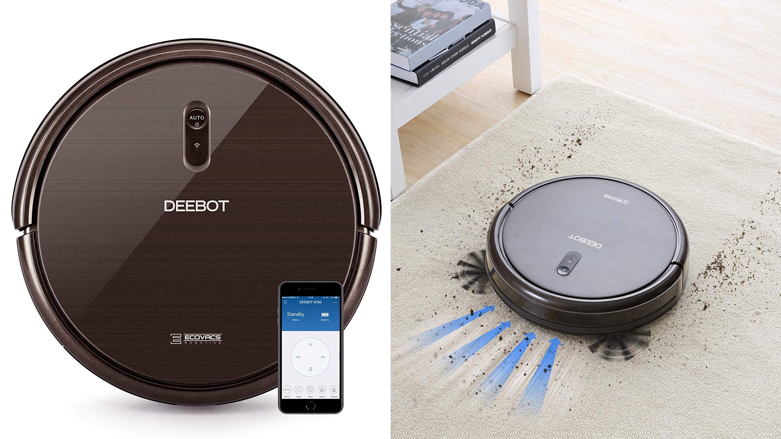 The Ecovacs Deebot N79S robot vacuum is at an amazing low price right now