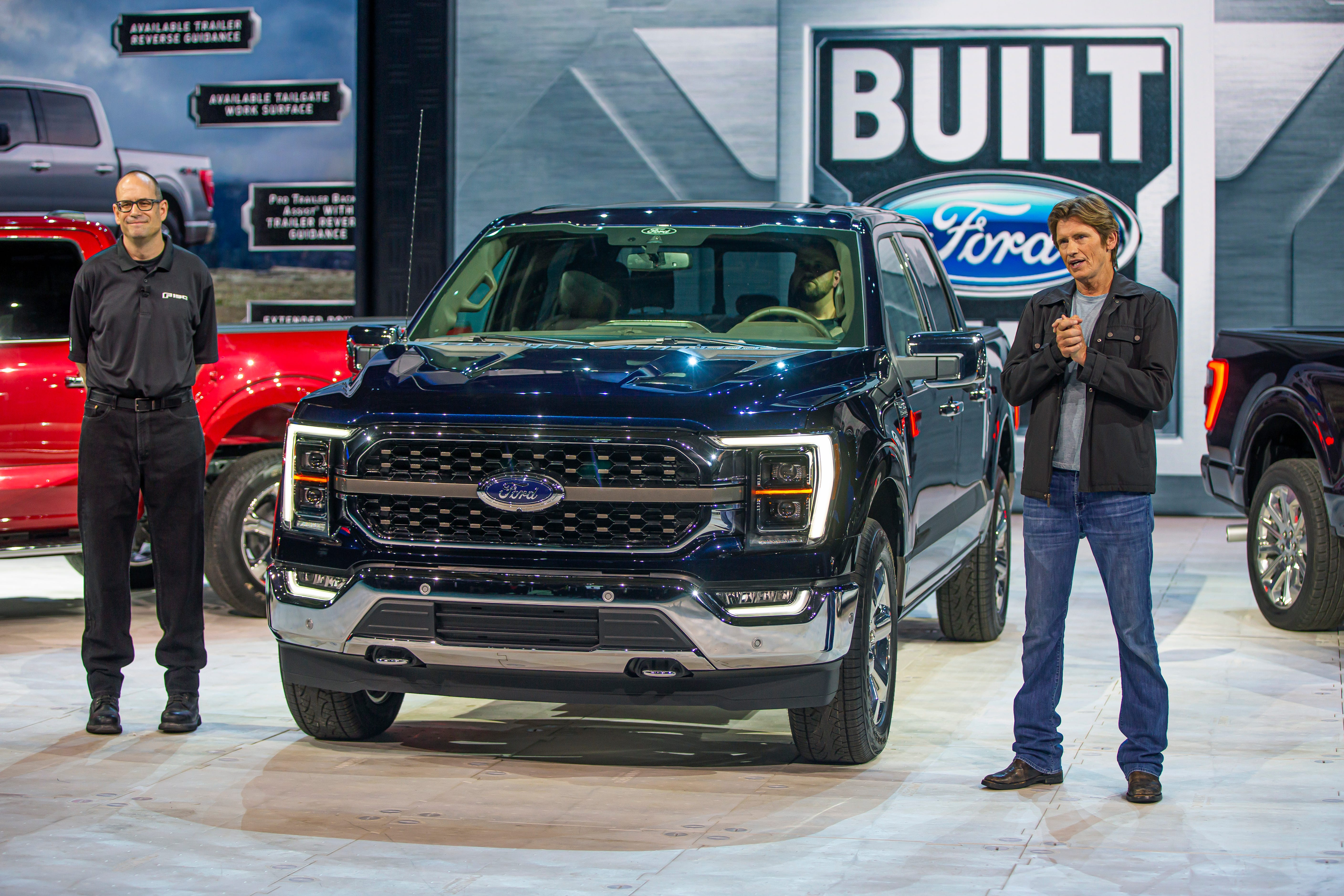 2021 F-series pickup truck makes debut