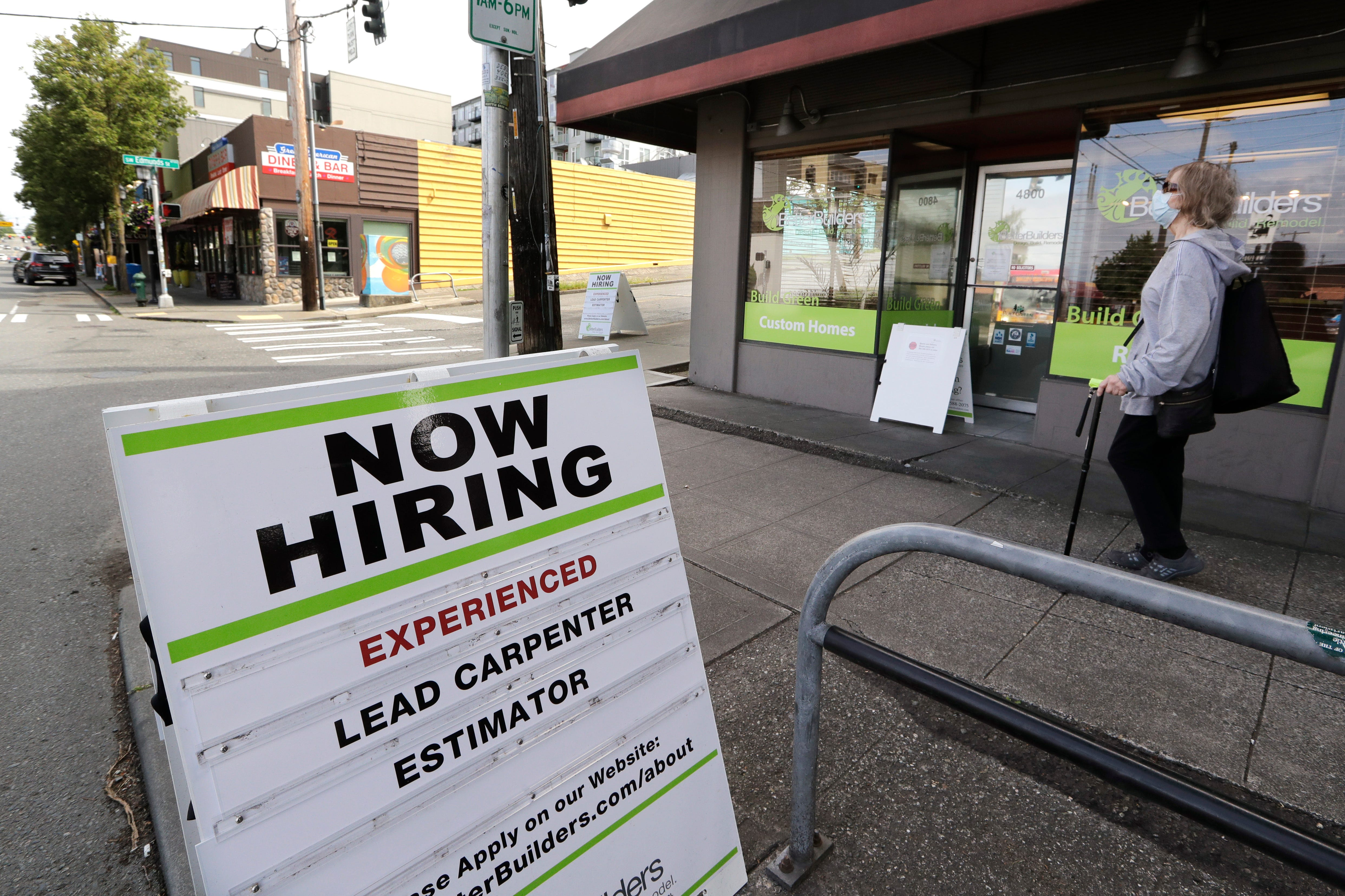 Economy add 2.5 million jobs as businesses reopen