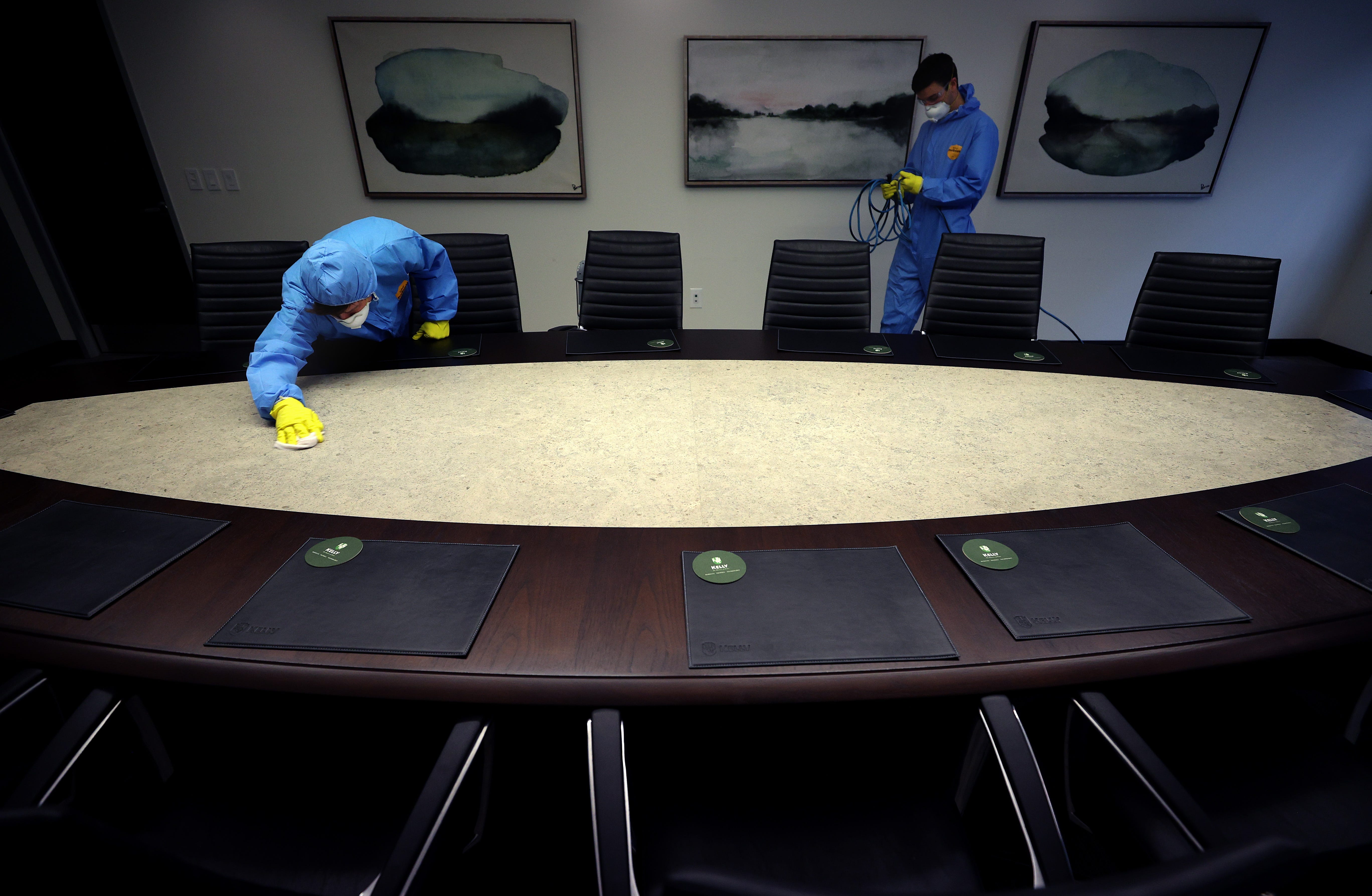 How employers can clean to keep offices safe