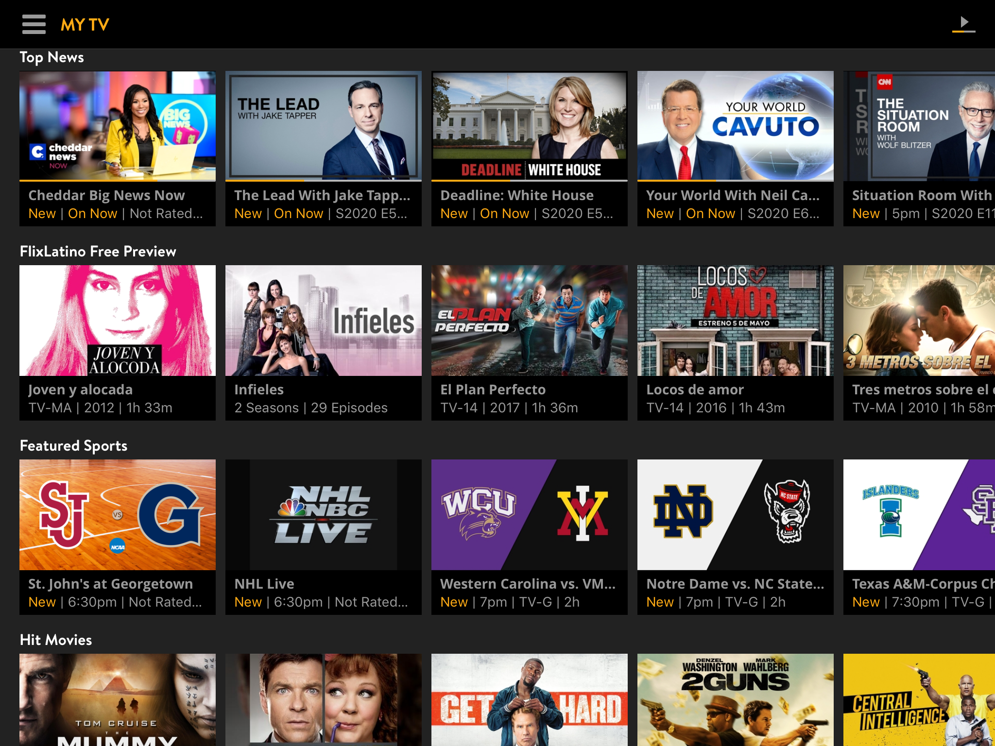 How does Sling TV for $30 compare to $65 for YouTube TV?