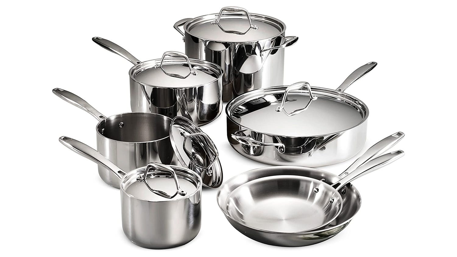 Save on the Tramontina 12-Piece cookware set now