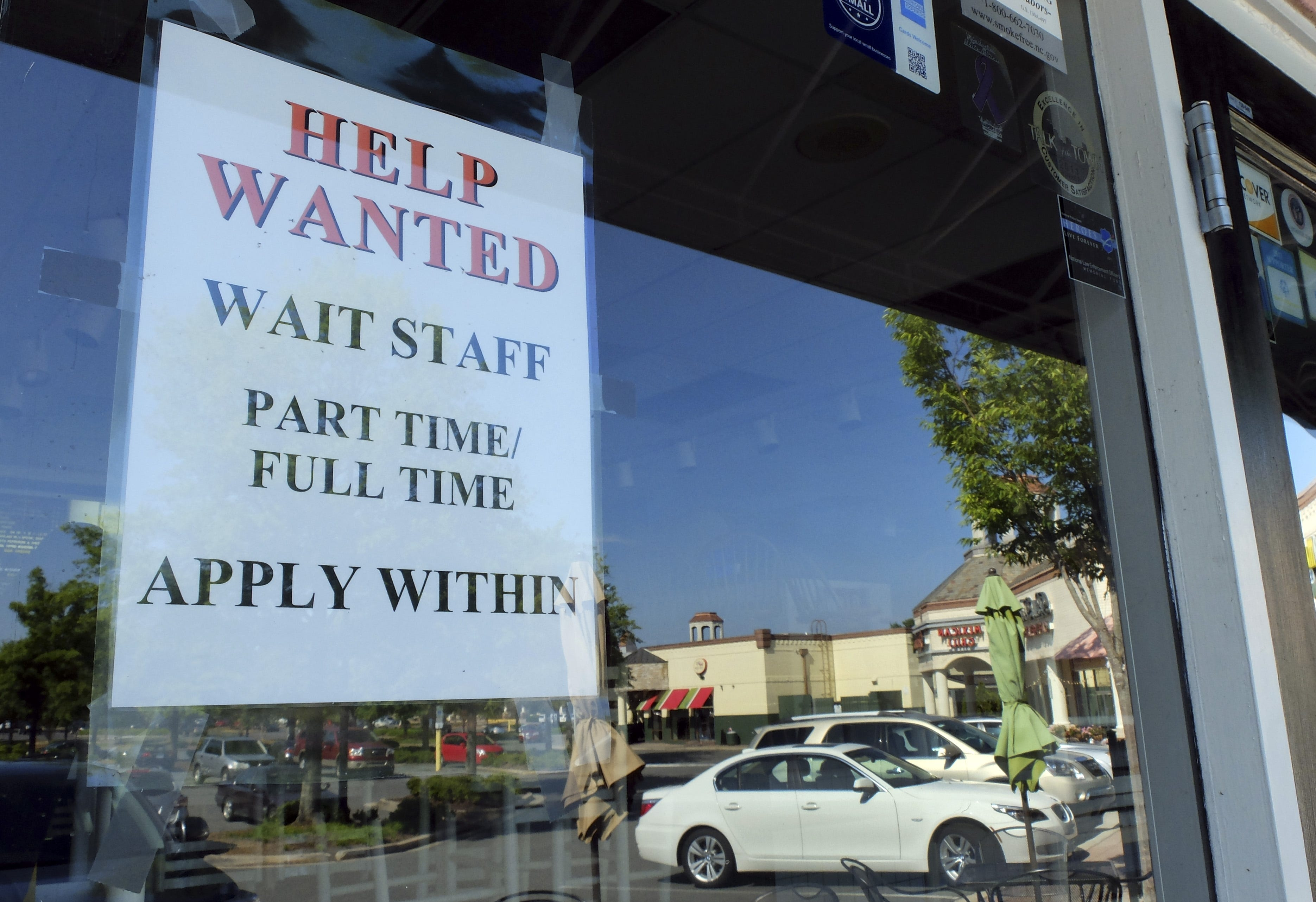 1.8M jobs added as some states reopen, others throttle back
