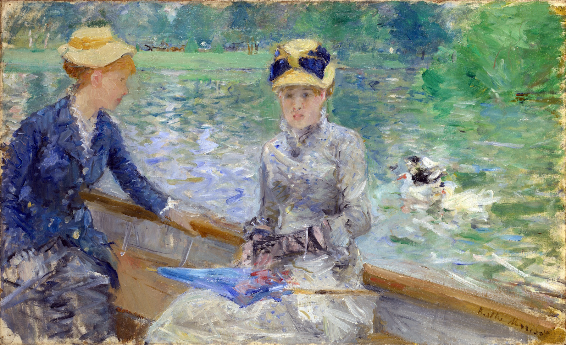 Berthe Morisot's Impressionist Scene of Summer Tranquility Was Unusual for Its Time. Here Are 3 Facts You Might Not Know About It