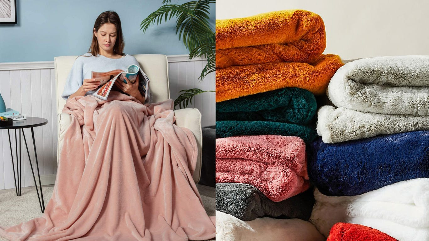 The 15 most popular throw blankets of 2020