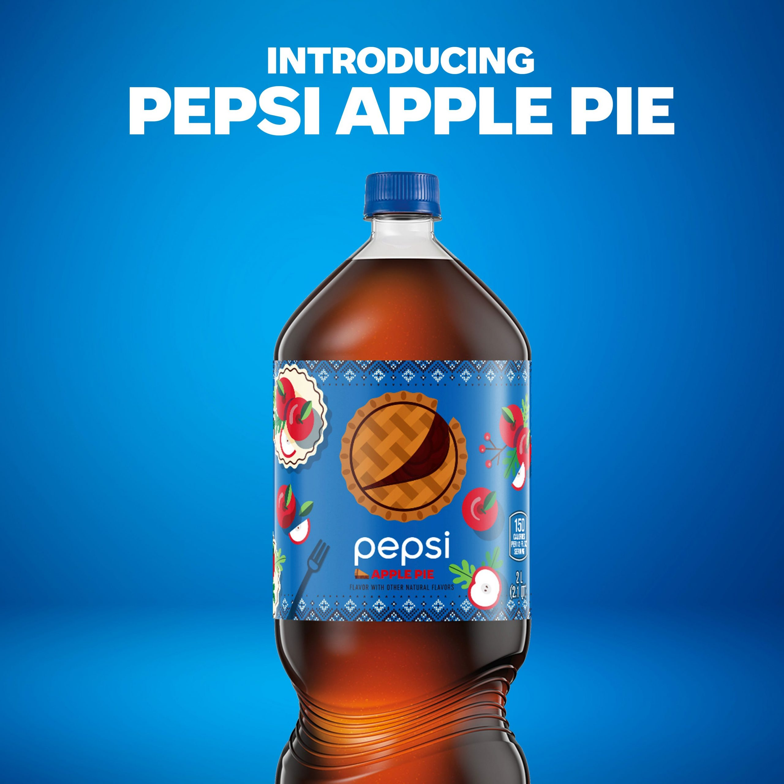An apple pie in a bottle: Pepsi launches new soda with cinnamon and apple flavors