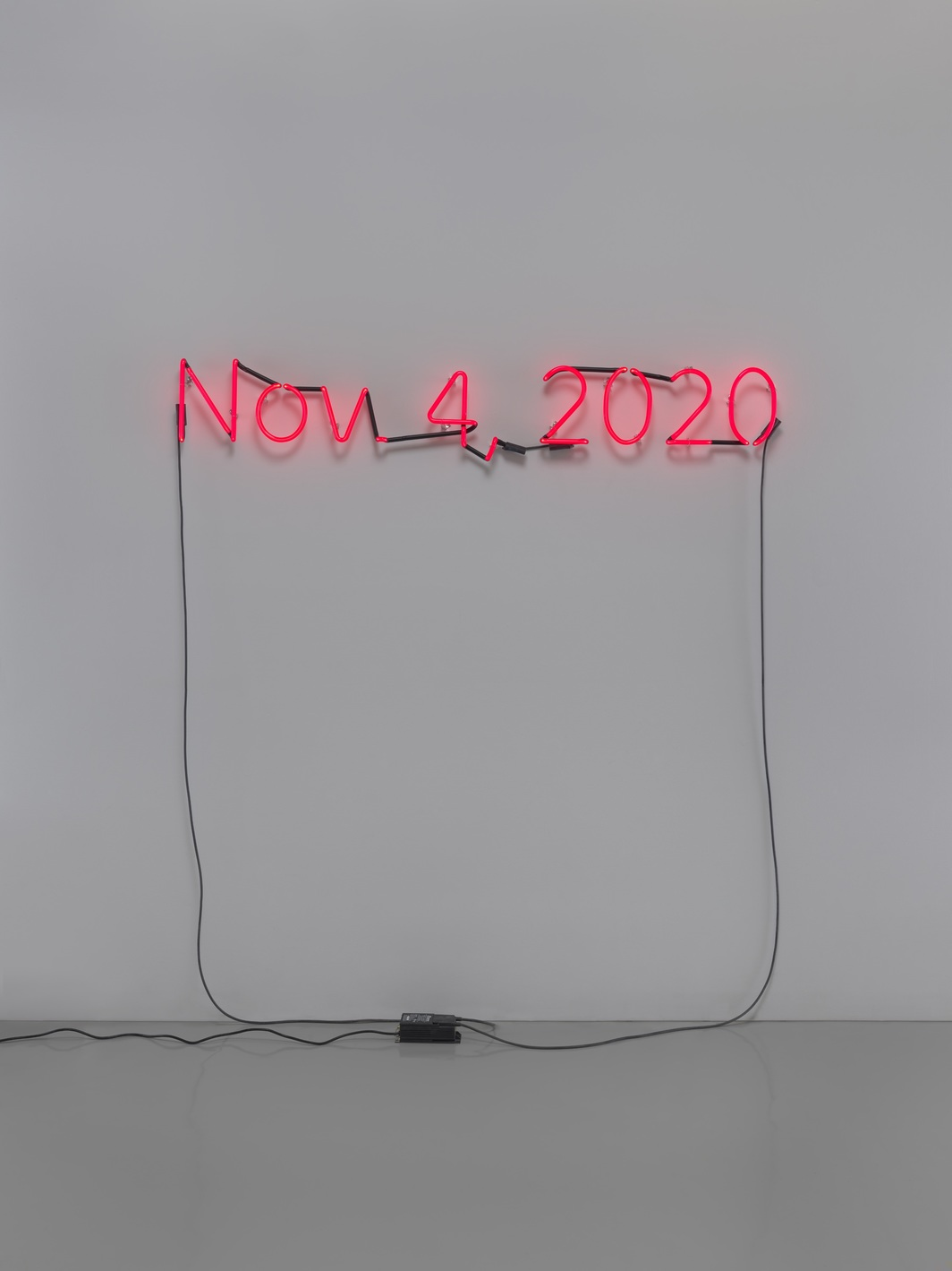 Artist Glenn Ligon Reveals His Latest Work, About a Never-Ending Election Day + Other Stories