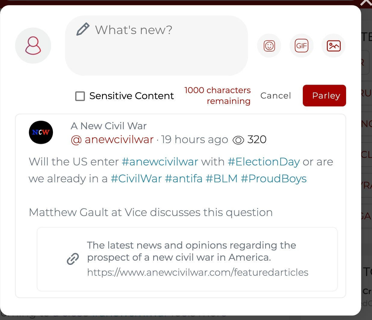 Different rules at Parler, TikTok and Gab
